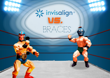 Here's Why Invisalign Would Win A Cage Match Against Braces